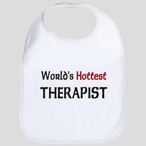 World's Hottest Therapist Bib