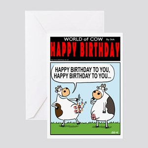 Birthday Song Greeting Card