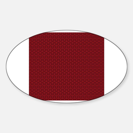 Unique Piano designs Sticker (Oval)
