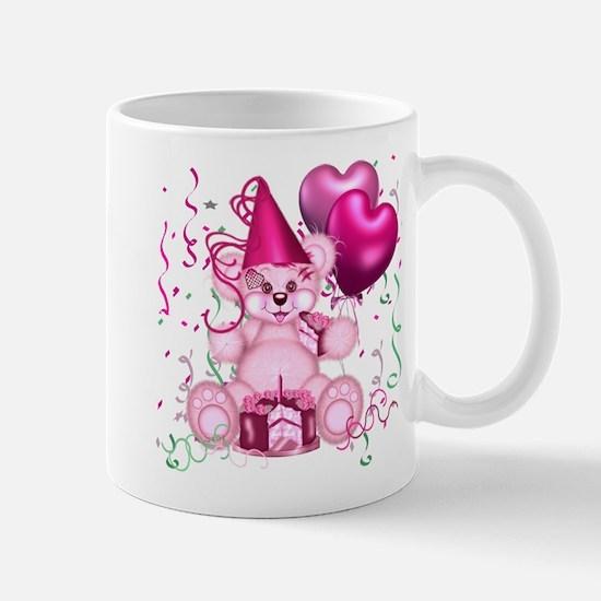 BIRTHDAY/BALLOONS (pink) Mug