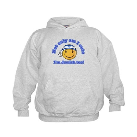 Not only am I perfect I'm Jewish too! Kids Hoodie