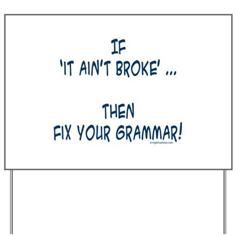 broken grammar