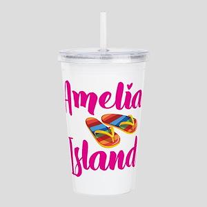 Amelia Island Flip Flo Acrylic Double-wall Tumbler