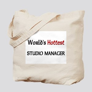 World's Hottest Studio Manager Tote Bag