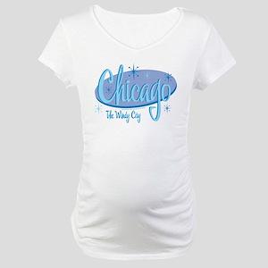 Chicago Retro Maternity T-Shirt