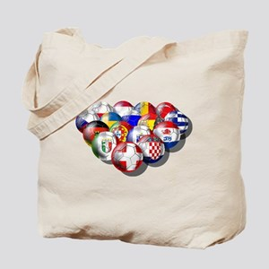 European Soccer Football Tote Bag