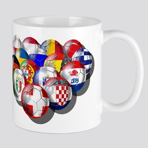 European Soccer Football Mug