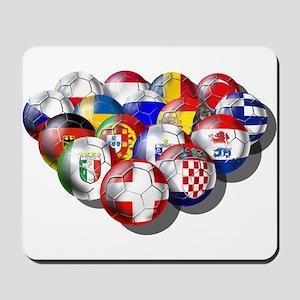 European Soccer Football Mousepad