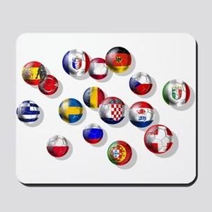 European Football Mousepad