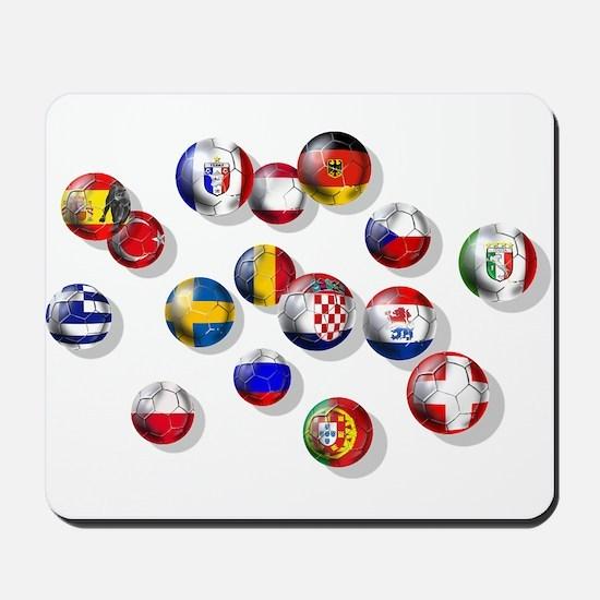 European Football Mousepad