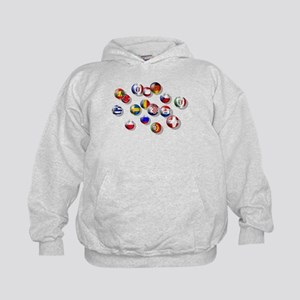 European Football Kids Hoodie