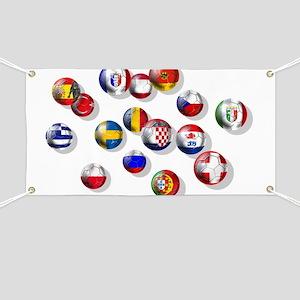 European Football Banner