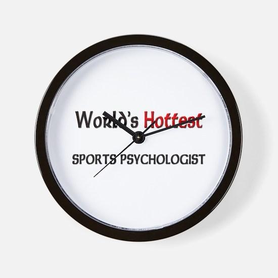 World's Hottest Sports Psychologist Wall Clock