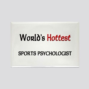 World's Hottest Sports Psychologist Rectangle Magn