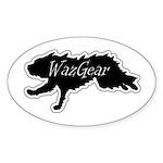 WazGear Sticker (Oval)