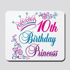 10th Birthday Princess Mousepad