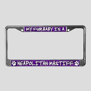 Furbaby Neapolitan Mastiff License Plate Frame