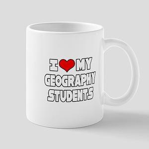 """Love My Geography Students"" Mug"
