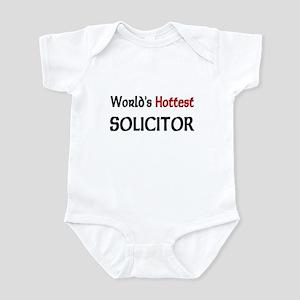 World's Hottest Solicitor Infant Bodysuit