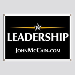 McCain Yard Signs Banner
