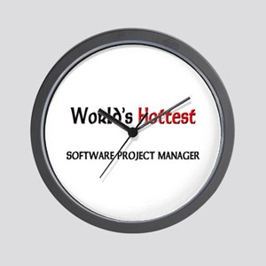 World's Hottest Software Project Manager Wall Cloc