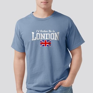 I'd Rather Be In London Women's Dark T-Shirt