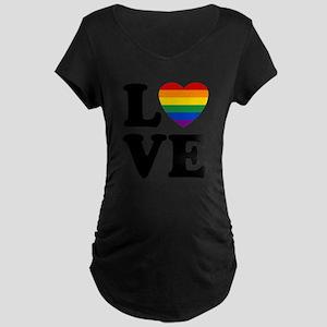 Gay Love Maternity T-Shirt