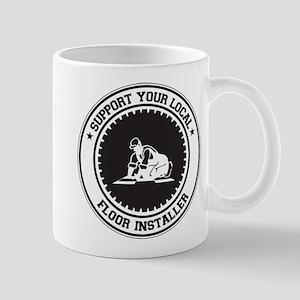 Support Floor Installer Mug