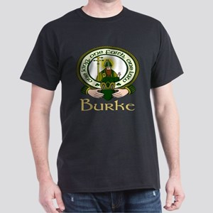 Burke Clan Motto Dark T-Shirt