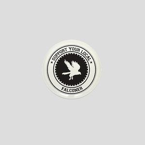 Support Falconer Mini Button