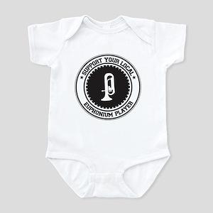 Support Euphonium Player Infant Bodysuit