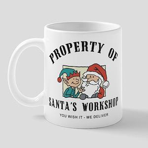 Property of Santa's Workshop Mug