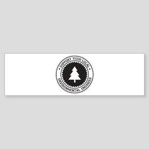 Support Environmental Engineer Bumper Sticker