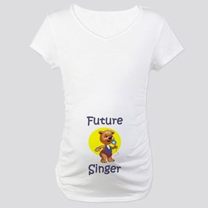 Future Singer Maternity T-Shirt