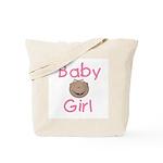 Baby Girl (African American) Tote Bag