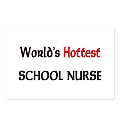 World's Hottest School Nurse Postcards (Package of