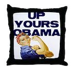 Anti-Obama Throw Pillow