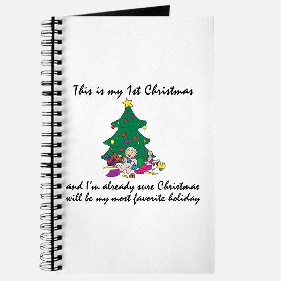 My First Christmas Journal