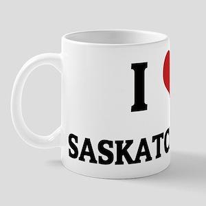 I Love Saskatchewan Mug
