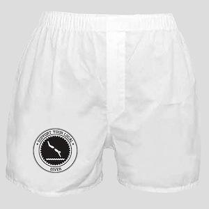 Support Diver Boxer Shorts