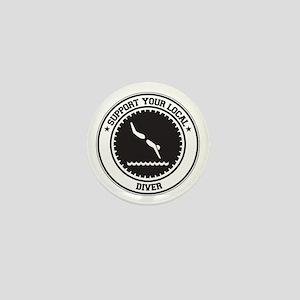 Support Diver Mini Button