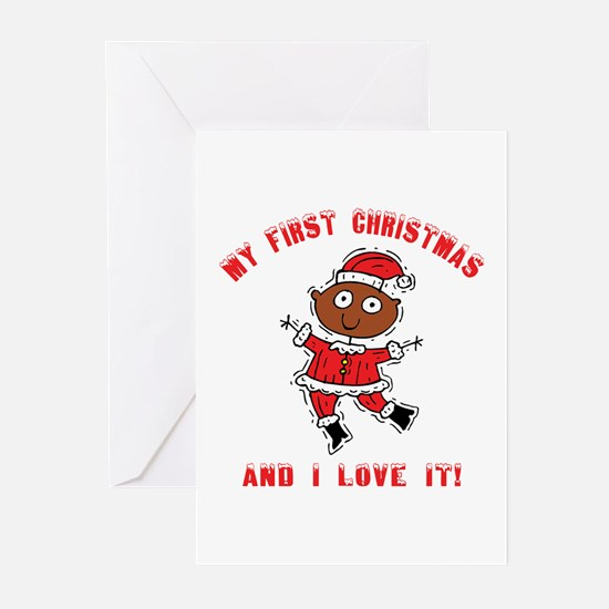 My First Christmas Greeting Cards (Pk of 10)