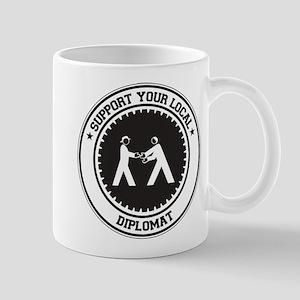 Support Diplomat Mug