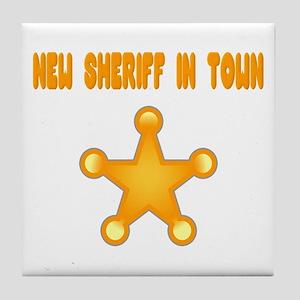 Sheriff Tile Coaster