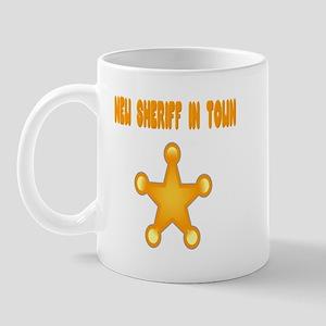 Sheriff Mug