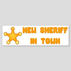 Sheriff Bumper Sticker