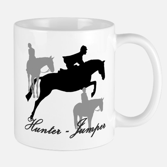 Hunter Jumper Trio Script Mug