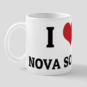 I Love Nova Scotia Mug