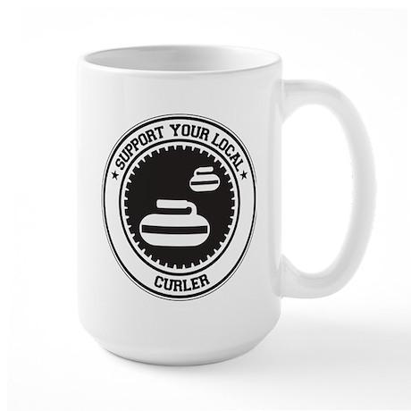 Support Curler Large Mug