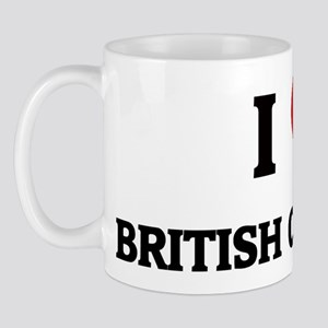 I Love British Columbia Mug